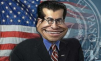 caricature of steve ortega
